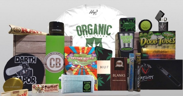 Monthly Marijuana Subscription Gift Boxes Are Thriving