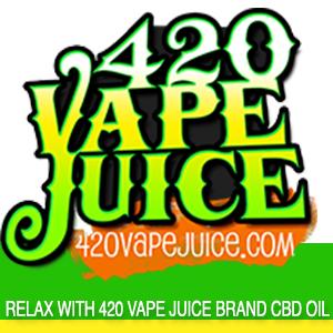 420 Vape Juice.com Announces Powerful New 100 MG CBD Vape Juice