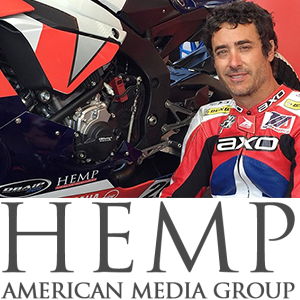 Historic Deal Made as Pro Motorcycle Racer Gets Sponsored by a Marijuana Company