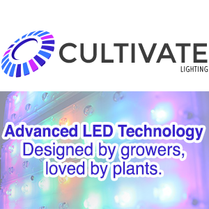Grower-Designed LED Lighting Company, CULTIVATE Lighting, Launches at CannaGrow Expo
