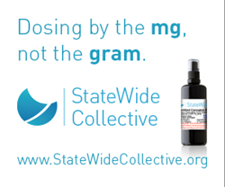 "United Patients Group Launches StateWide Collective's ""Dosing by the mg, Not the Gram!"" Campaign"