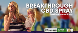 Gevitta Launches Indegogo Campaign for Canna™ Vitamin Spray, a Breakthrough CBD Product with Proceeds Donated to Epilepsy