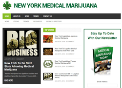 New York Medical Marijuana News Website Launched