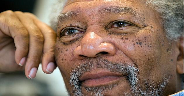 Actor Morgan Freeman Voices Pro-Marijuana Views