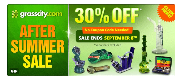 Save 30% at Online Head Shop