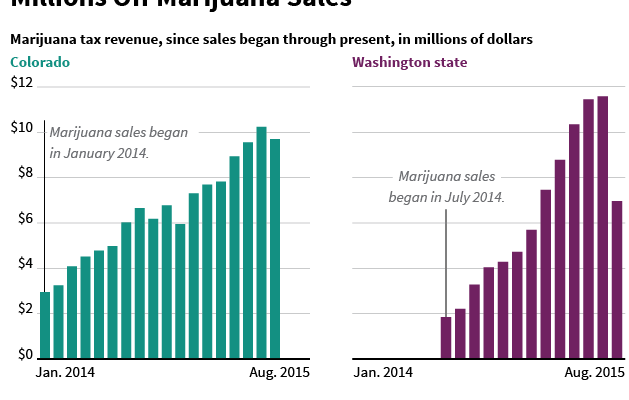 Chart: Marijuana Tax Revenue
