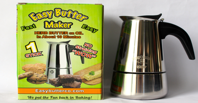 The Easy Butter Maker