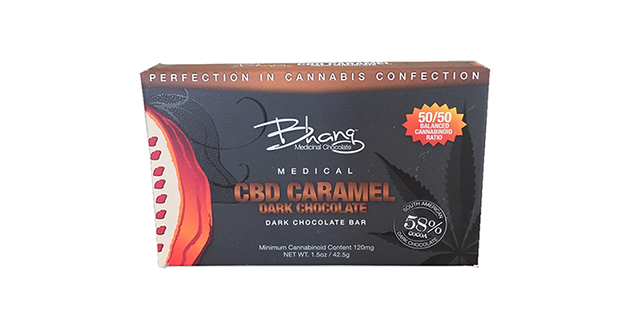 Bhang CBD Caramel Dark Chocolate