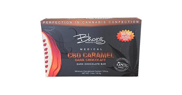 Bhang CBD Caramel Dark Chocolate