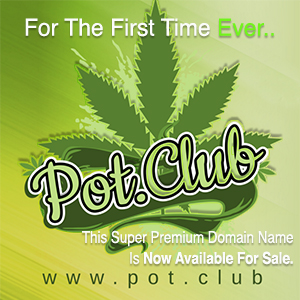 "Hot Marijuana Industry Web Address ""Pot.club"" Up for Auction"