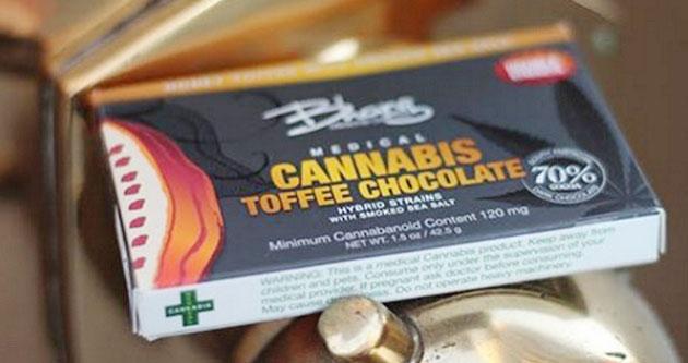 Bhang Toffee Chocolate Bar