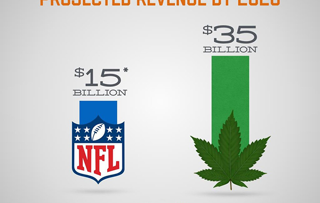 Marijuana Industry Projected Revenue