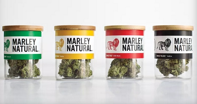 Bob Marley's Brand of Marijuana and Products in Stores Now