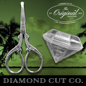 "Diamond Cut Co. Announces – The Premier – Signature 3½"" Original Lifestyle Herb Scissor"