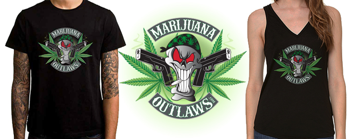 Claim Your FREE Marijuana Outlaws Shirt Here!!