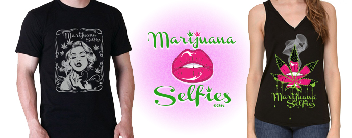 Claim Your FREE Marijuana Selfies Shirt Here!!