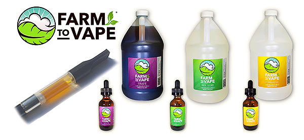 New Farm to Vape Flavors:  Grape, Key Lime & Pineapple