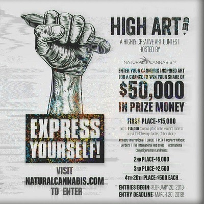 HIGH ART 2018 OPENS FOR SUBMISSIONS WITH THEME OF FREEDOM