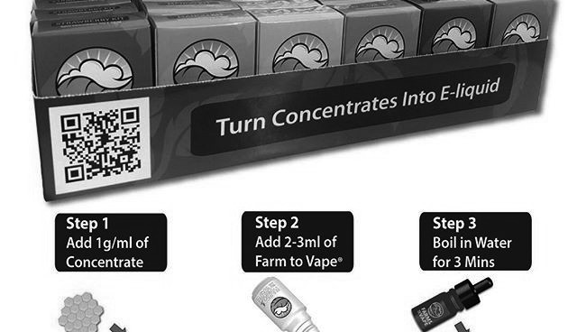Farm to Vape Releases New Store Display with Mr. Checkout Distributors